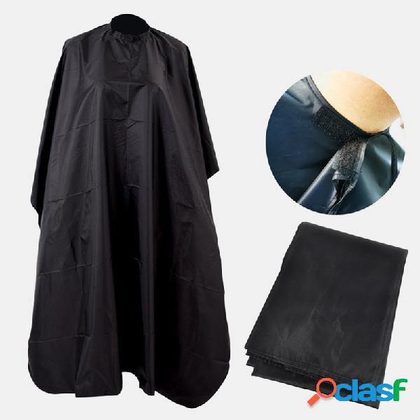 Corte profesional cabello impermeable paño salón de peluquería cabello capa de vestir cabello delantal de bata de corte