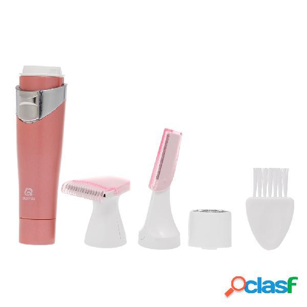 Máquina de afeitar portátil multifuncional de la máquina de afeitar eléctrica del dispositivo de eliminación cabello 3 en 1