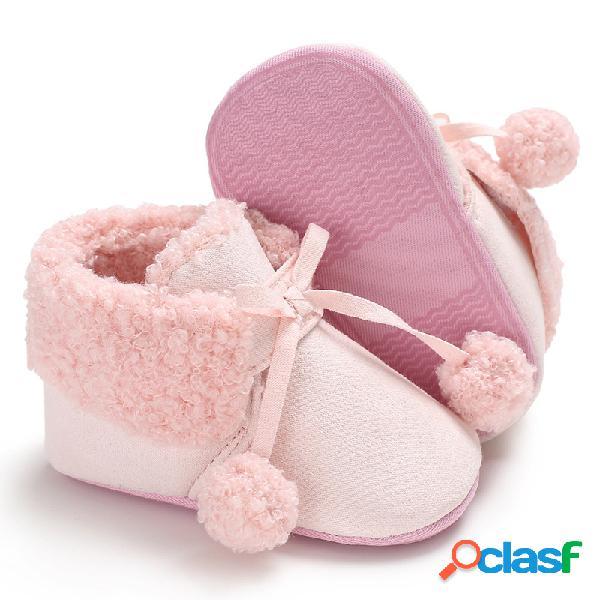 Ball decor baby botas soft flats first walker por 0-2 años