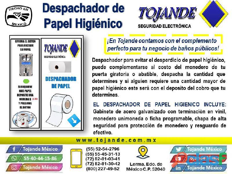 DESPACHADOR DE PAPEL HIGIÉNICO TOJANDE