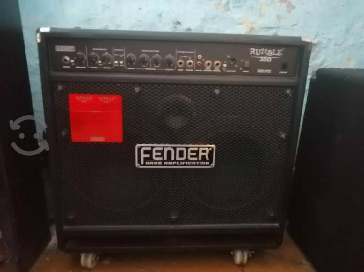 Amplificador para bajo fender rumble 350
