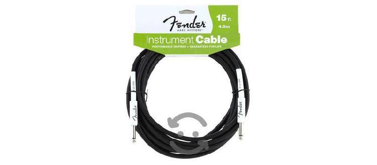 Cables fender originales 4.5m nuevos