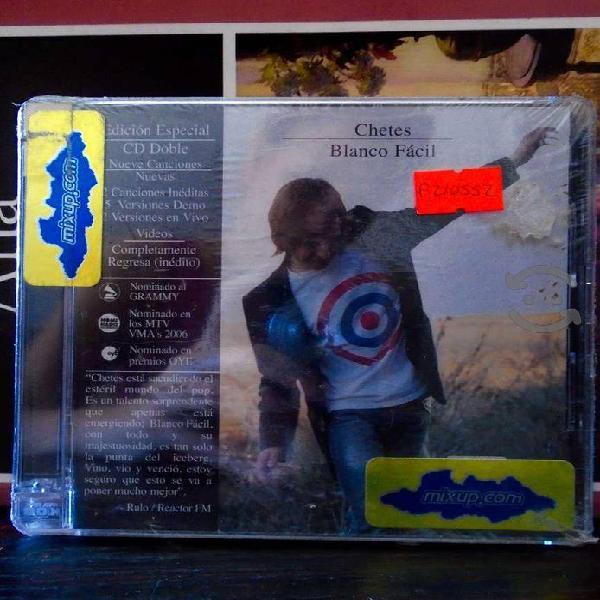 """Chetes """"blanco fácil"""" edición especial 2006 2 cd's"""