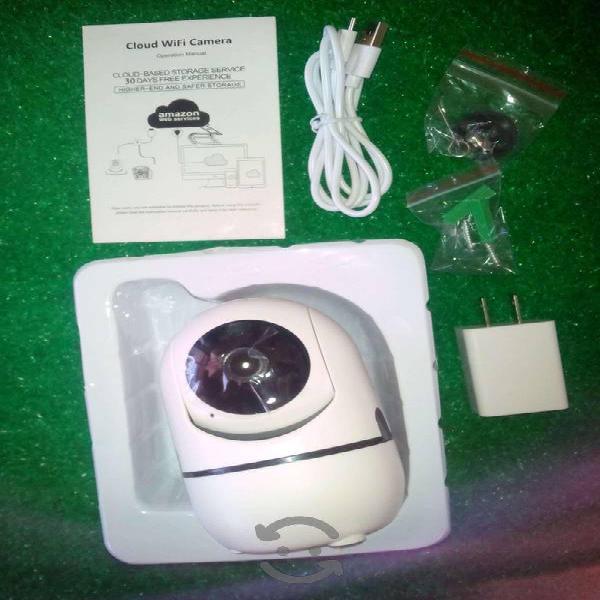Cámara vigilancia wifi ip hd nueva