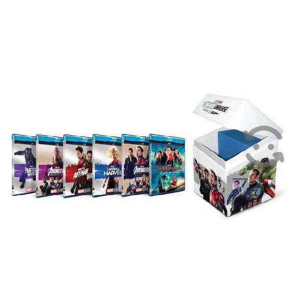 Colección blu-ray marvel fase 3 parte 2, nuevo!!