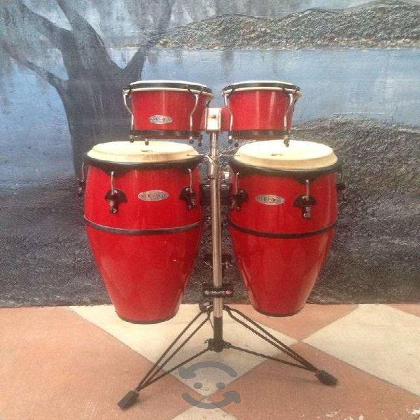 Congas y bongos toca