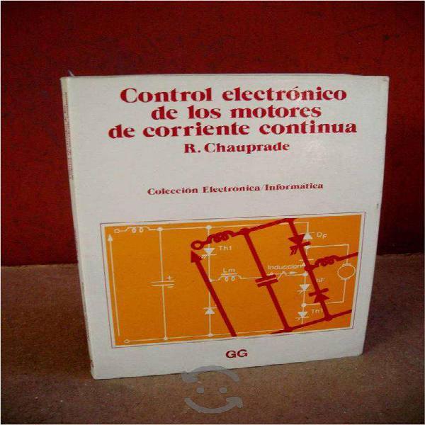 Control electrónico de motores de c.c. x chauprade