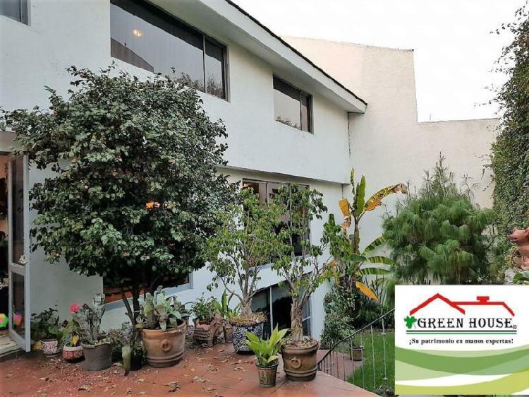 Green house vende residencia en pedregal de san francisco