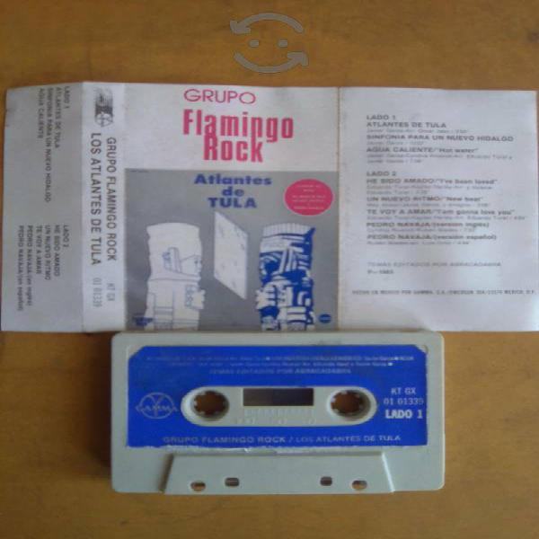 "Grupo flamingo rock ""atlantes de tula"" cassette"