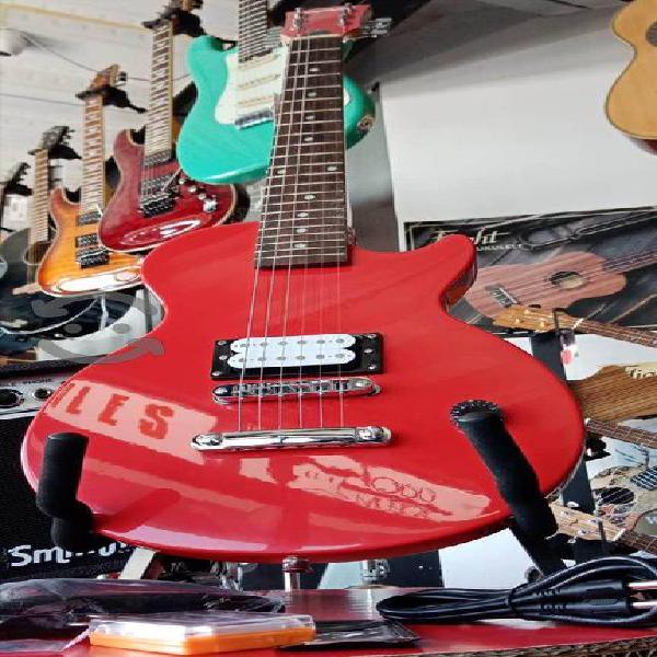 Guitarra eléctrica para niño. amplificador funda