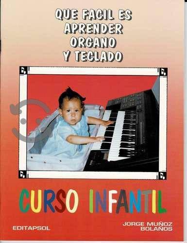 Metodo que facil es aprender ãrgano y teclado in