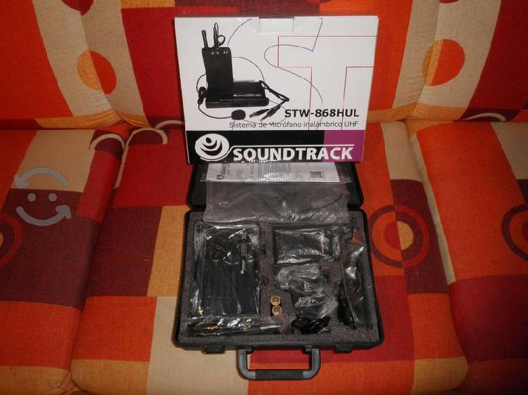 Microfono inalambrico soundtrack stw-868 hul