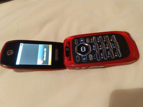 Motorola Ferrari Edition Flip Phone Iden I897 Usado $1199.