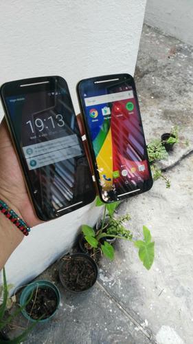 Motorola g2.dos piezas.x3.500 fijos 16gb.libres.cuidados