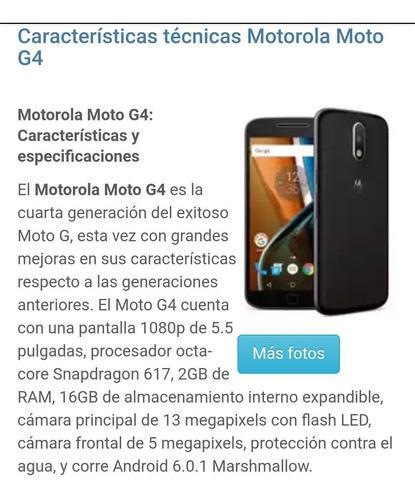 Motorola g4 - envio gratis - at&t