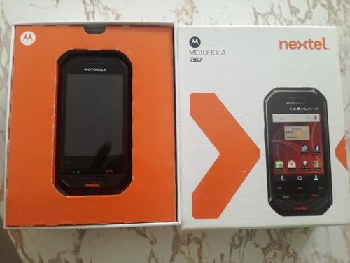 Motorola nextel modelo i867