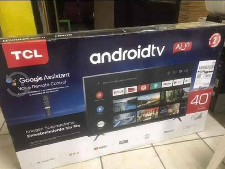 """Pantalla tlc 40"""" android tv fhd led nueva en caja"""
