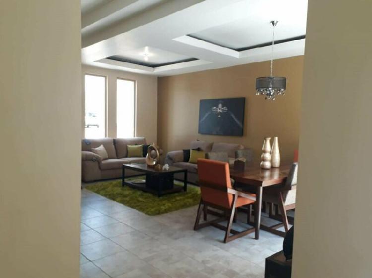 Se vende casa nueva amueblada de un piso
