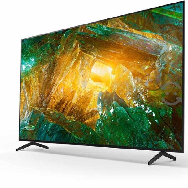 "Sony pantalla 65"" smart tv 4k uhd android tv."