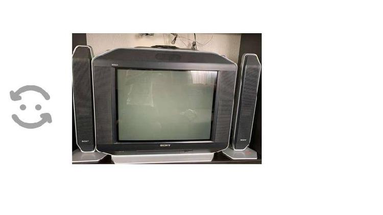Vendo tele sony fd trinitron wega home theater