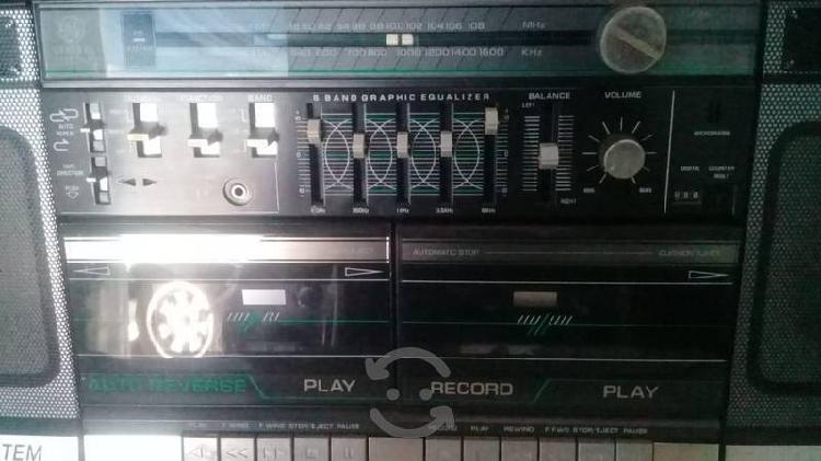 Grabadora g.e de los 80s