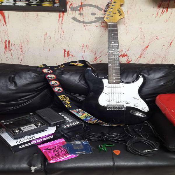 Guitarra pedalera accesorios