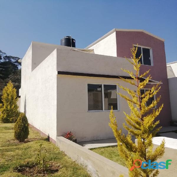 Hermosa Casa en Condominio Horizontal en Tlalmanalco, Edo de México