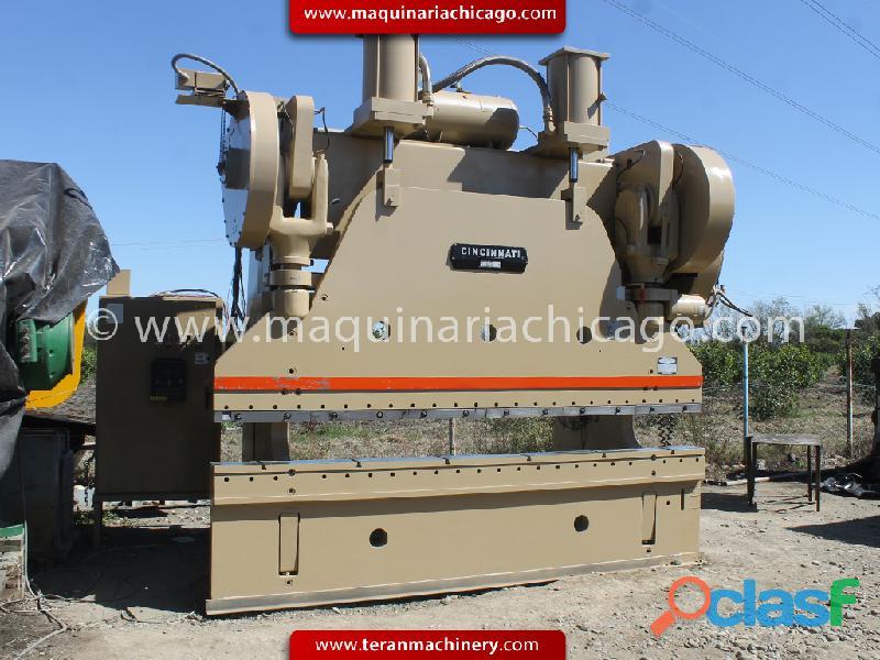 Prensa cincinnati 12' x 400 toneladas en venta