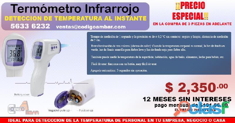Termómetro de temperatura infrarrojo