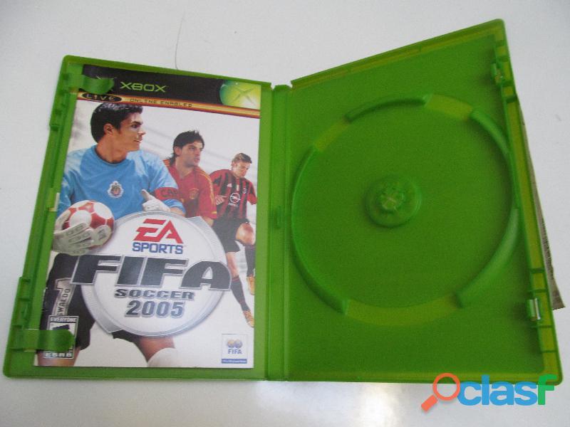 Caja Fifa 2005 Xbox Instructivo No Juego No Rota Usado (ver 1