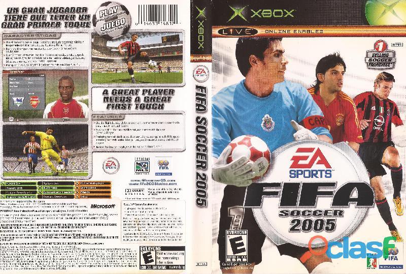 Caja Fifa 2005 Xbox Instructivo No Juego No Rota Usado (ver 2