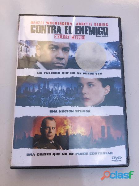Contra El Enemigo Dvd Original Nueva Densell Washington