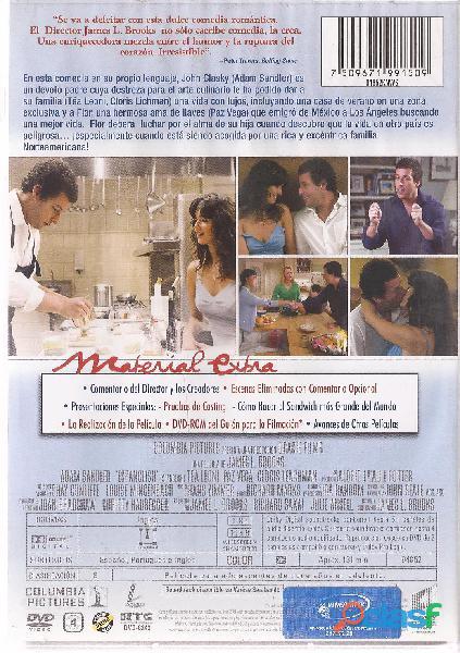 Espanglish Dvd Original Adam Sandler Nueva