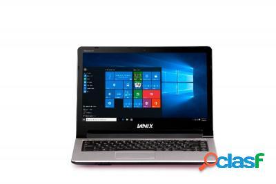 "Laptop lanix neuron a v15 15.6"" full hd, intel celeron n3350 1.10ghz, 4gb, 500gb, windows 10 home 64-bit, plata"