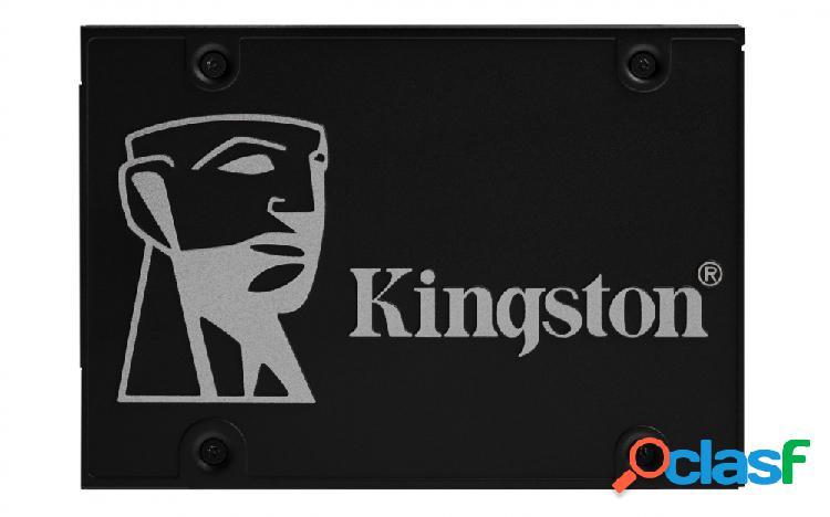 Ssd kingston kc600 nand 3d tlc, 1tb, sata iii, 2.5'', 7mm - ¡obtén 15% de descuento al comprarlo con una laptop seleccionada!