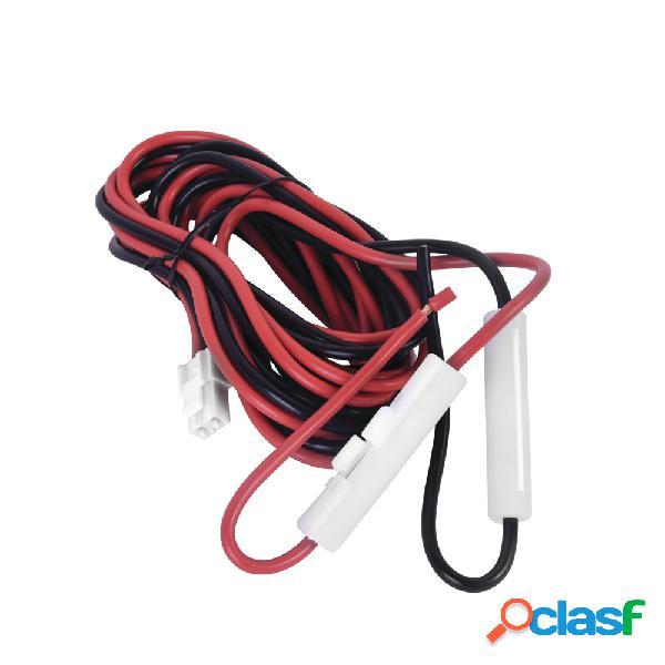 Txpro cable de corriente para radio, tx-k202, negro/blanco, para kenwood