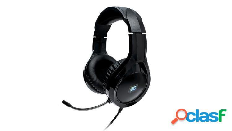 Vorago audífonos gamer hs-501, alámbrico, 2.2 metros, 3.5mm, negro