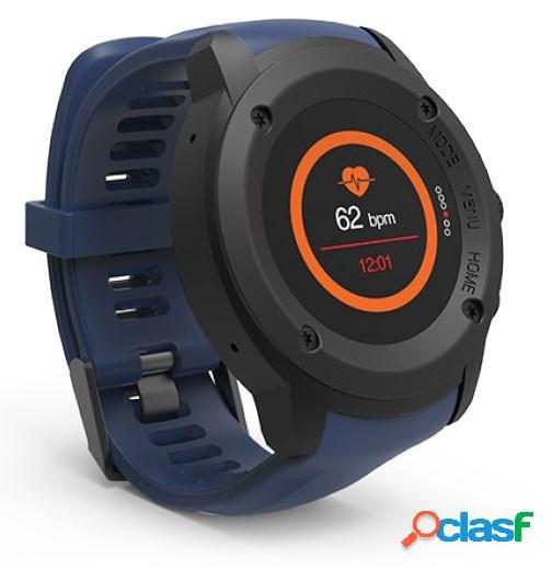 Ghia smartwatch gac-140, touch, bluetooth 4.0, android 7.1/ios 9.3, negro/azul - resistente al agua