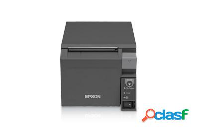 Epson tm-t70ii, impresora de tickets, térmico, alámbrico, usb, negro