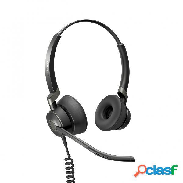 Jabra audífonos con micrófono engage 50 stereo, alámbrico, 1.2 metros, usb, negro
