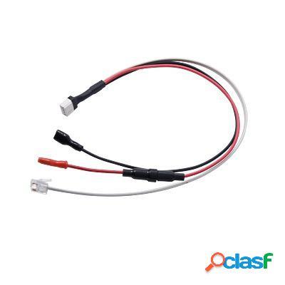 Pima cable de corriente para comunicador, 34-110-79, negro/blanco, para net4pro