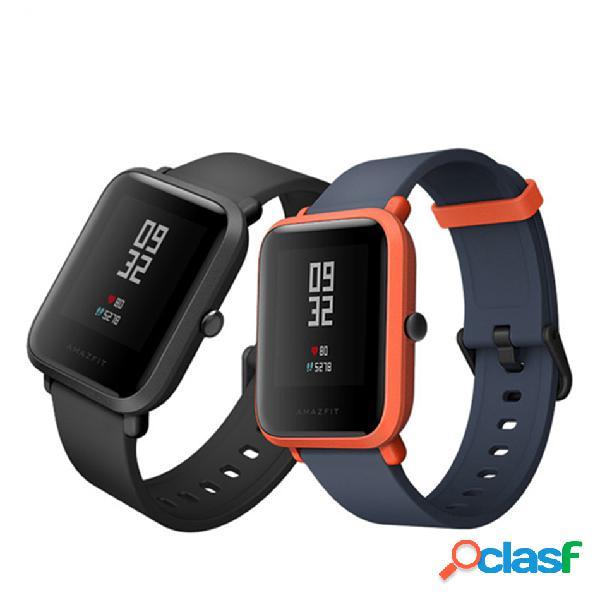Versión internacional del reloj inteligente original xiaomi amazfit bip pace para jóvenes bluetooth bluetooth 4.0 ip68