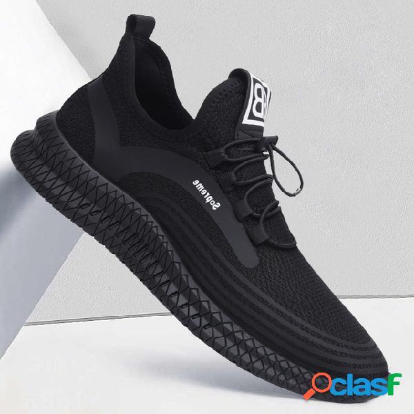 Calzado deportivo informal antideslizante transpirable para hombre