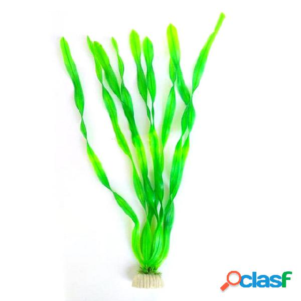 1 pc fish tank large acuario acuático planta criatura decoraciones decoración acuario decorativo