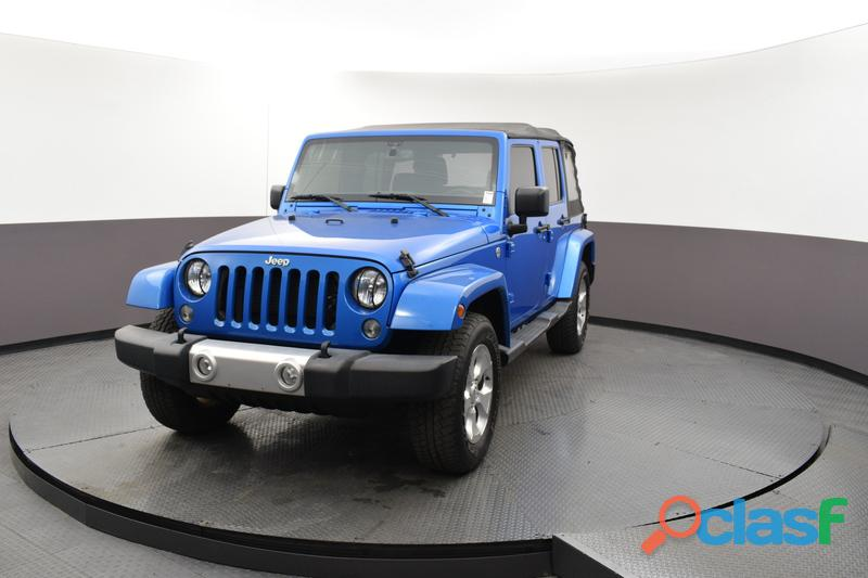 JEEP RENEGADE 2015 UNLIMITED AZUL