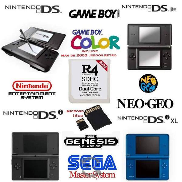 2600 juegos retro gb gbc neogeo genesis ds en tuds