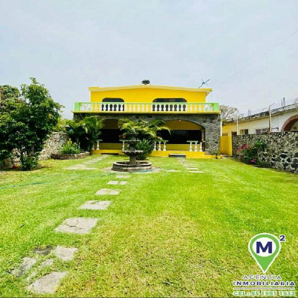 Casa sola con cesión de derechos en xochitepec