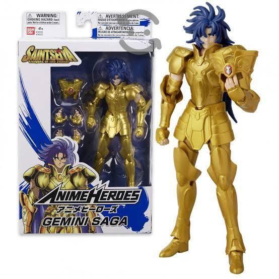 Caballeros del zodiaco bandai anime héroes