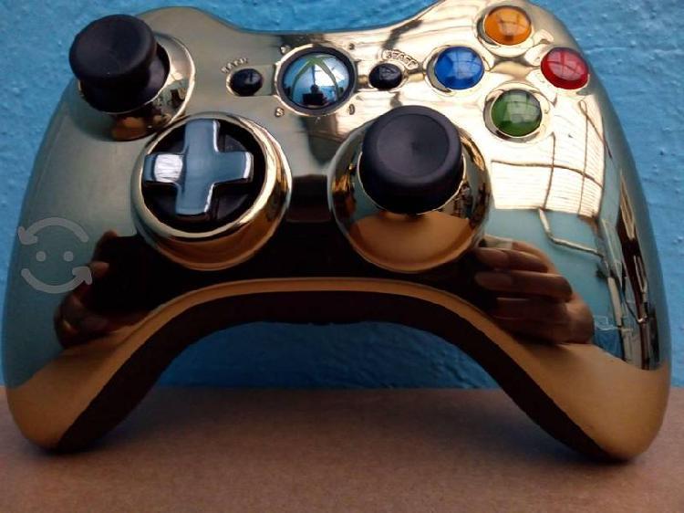 Control para xbox 360 edición especial dorado
