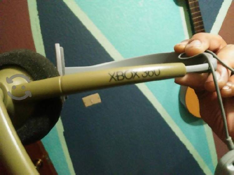 Diadema y micrófono control de xbox halo edition